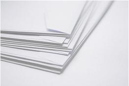 stack of white standard envelopes