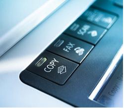 multi-function copier buttons