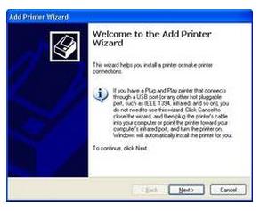 printer driver installation on computer screen