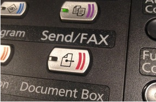buttons on a multi-function copier