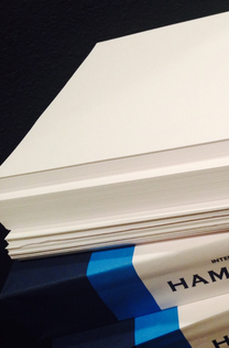 stack of printer paper