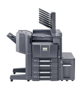 gray kyocera multi-function copier